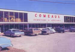 Comeaux Store in the 1960s