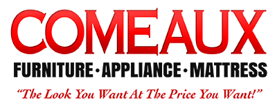 Comeaux Furniture, Appliance and Mattress Logo